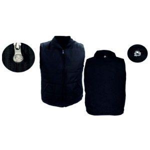Benetton Sleeveless Jacket Black