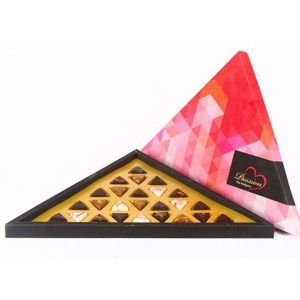 Bliss Chocolate 25 Pc Triangle Box