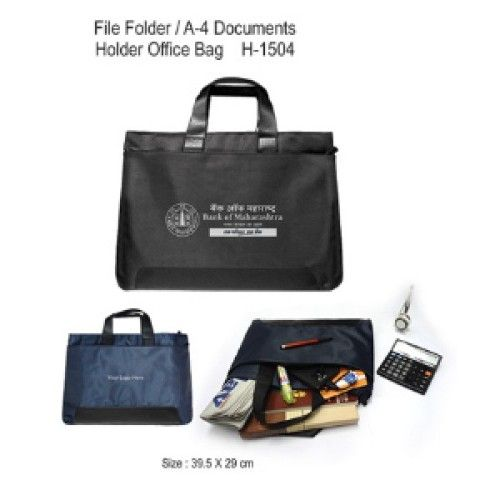 File Folder / A-4 Documents Holder Office Bag (H-1504)