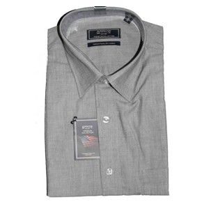Arrow Formal Charcoal Grey  Premium Cotton Shirt