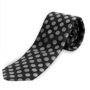 Alvaro Regular Tie Black Alcg 21
