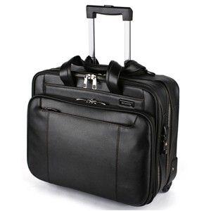 Samsonite  Savio Rolling  Black Tote Trolley Bag