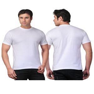 Scott Round Neck T-Shirt  White
