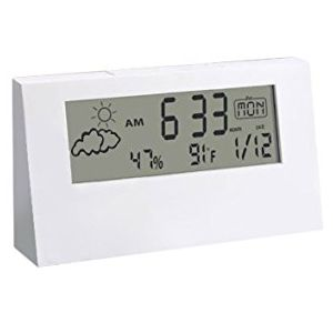 Sharp A104 Weather Station Clock(With Black Lit Display)
