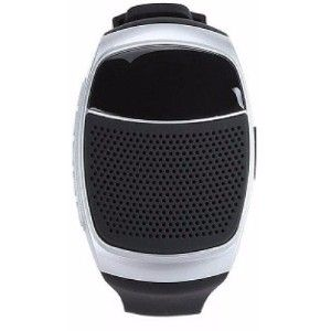 Shutterbugs Sb 103 Wireless Bluetooth Speaker Watch Grey Smartwatch  (Grey Strap Free Size)