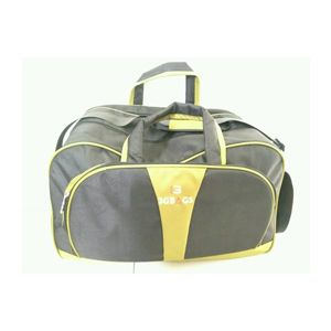 Travel Bag Black With Green