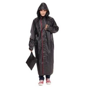 Versalis Rain Champ Coat Black
