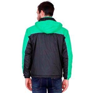 Good Quality Jacket Black & Green