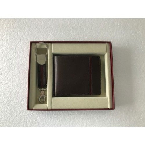 Bi Fold Wallet -Brown