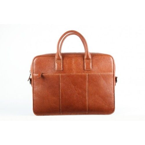 Elan Leather Executive Bag-Tan