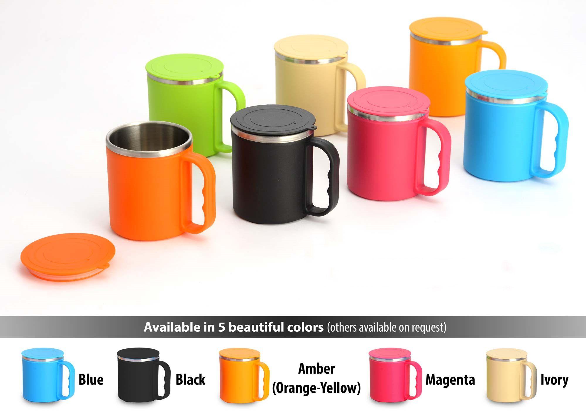 Power Plus Colorful?Ss?Coffee?Mug?(With?Box) H127