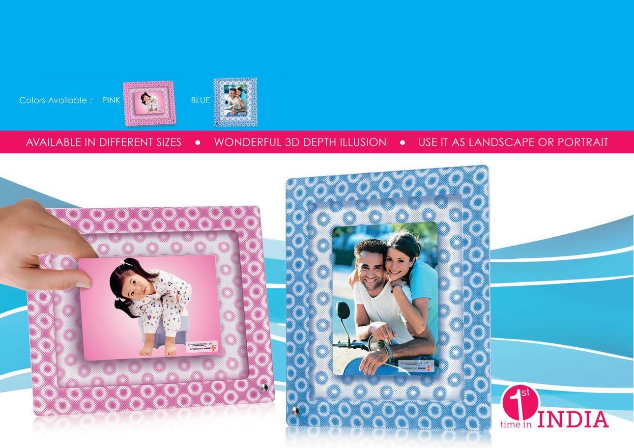 Power Plus Frozen Memories - 3D Photo Frame (5 X 7) D25