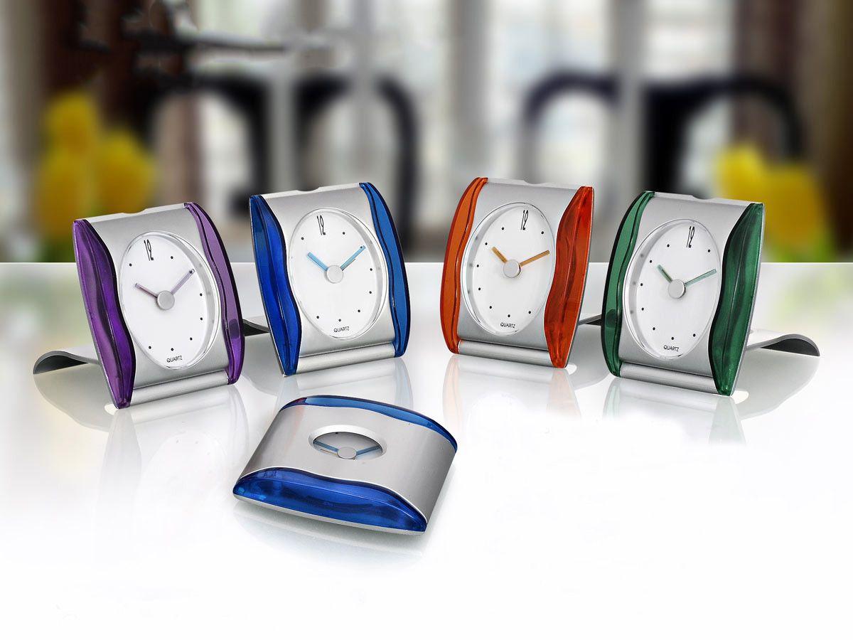 Power Plus Transparent Folding Table Clock A02