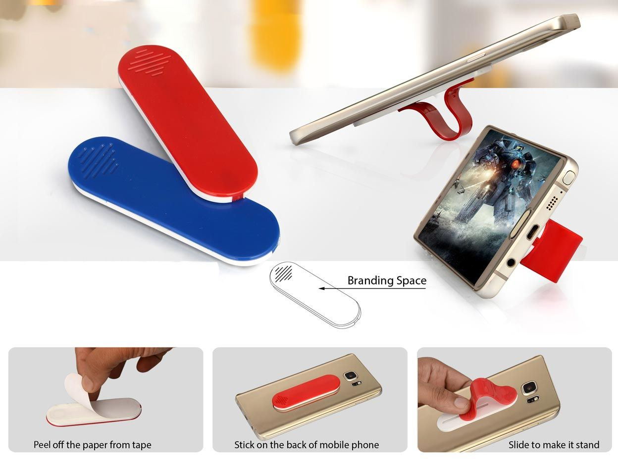 Power Plus Sliding Mobile Finger Loop (With Mobile Stand) E192