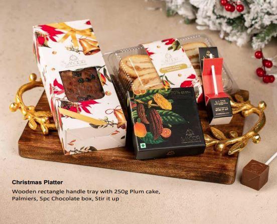 Smoor Christmas Platter