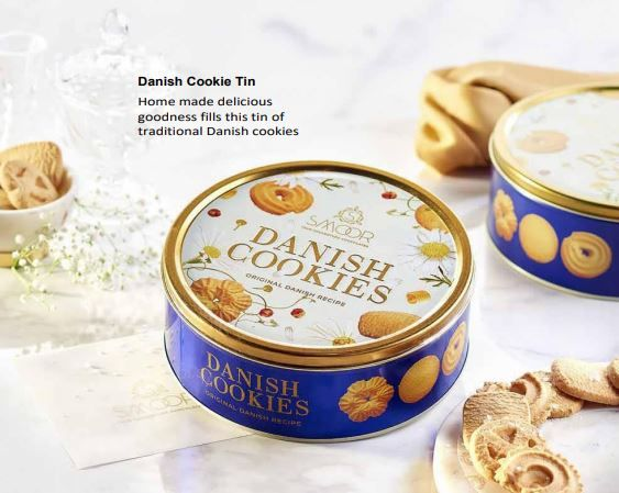 Smoor Danish Cookie Tin