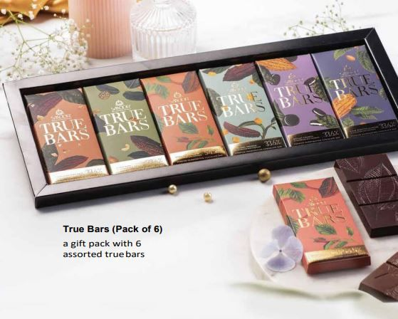 Smoor True Bars - Pack Of 6