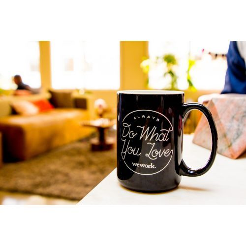 Ceramic cup with WeWork design - Pack Of 36