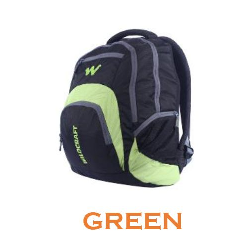 Wildcraft Hopper Laptop Backpack - Green