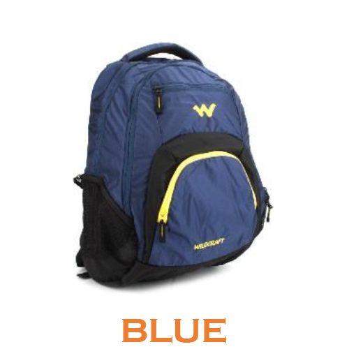 Wildcraft Lih Laptop Backpack - Blue