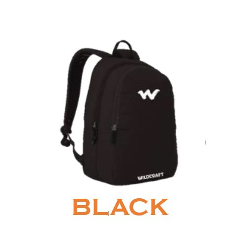 Wildcraft U2 Laptop Backpack- Black